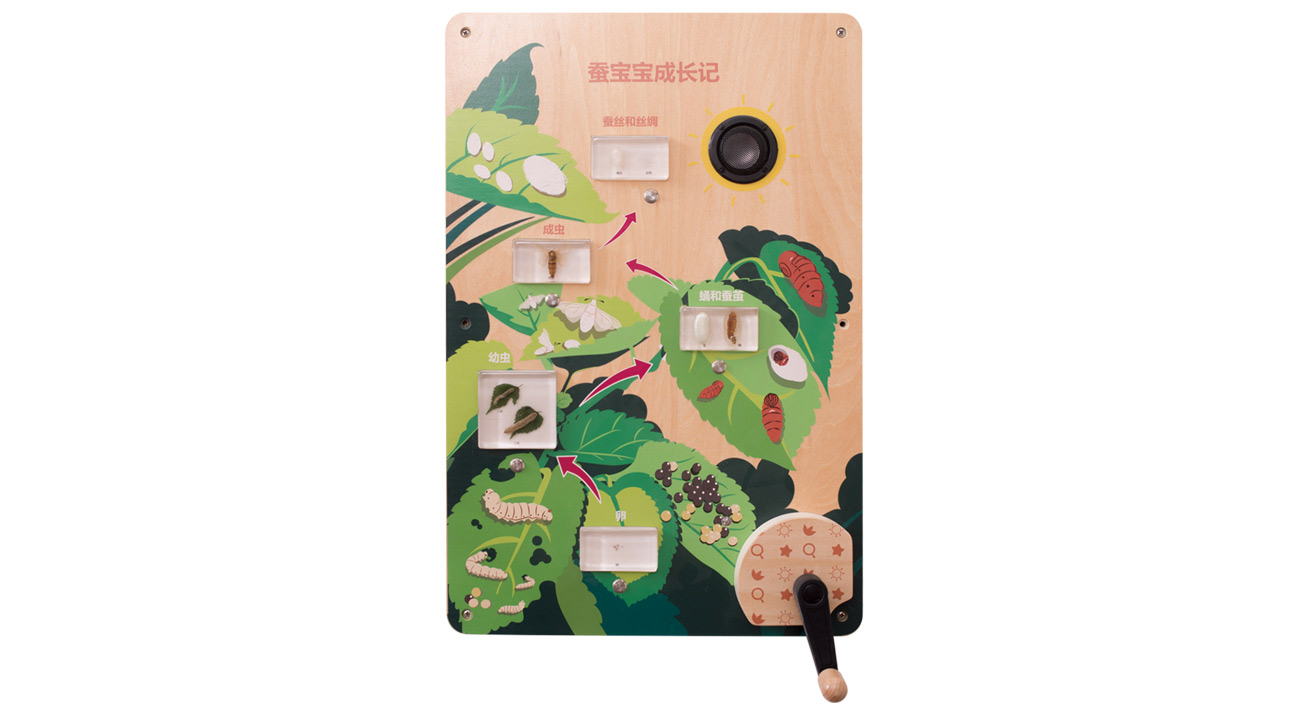 MDD-KJ-2148蚕宝宝成长记(售价:2430元)