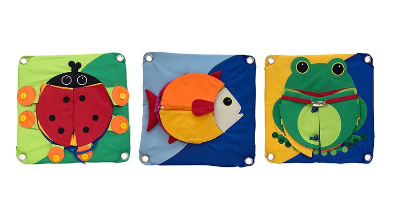 穿编游戏—鱼、瓢虫、青蛙(售价2700元)