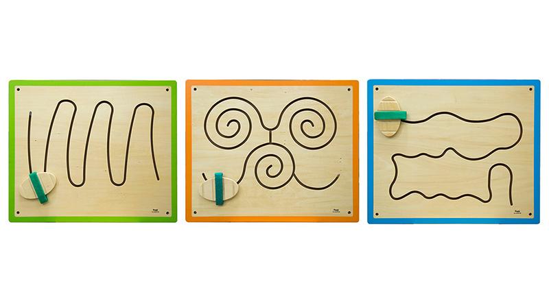 脚板游戏套装—山峰、蝴蝶、波浪(售价1494元)